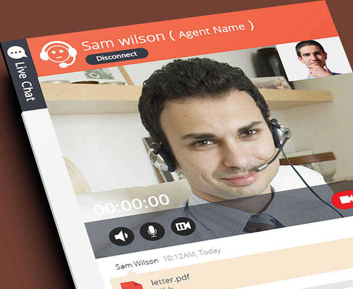 UI/UX for Video Chat Application