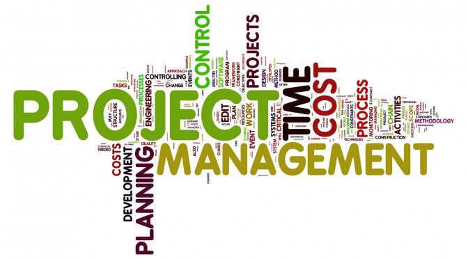 Project Manangement Blog Screen