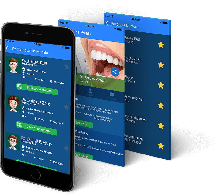 Doctor Appointment Booking App | Mobile App Design & Development