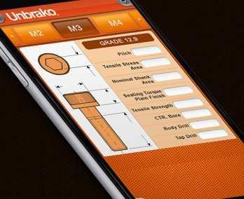 Fastener selecting app
