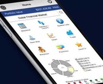 Mobile Stock Trading Platform
