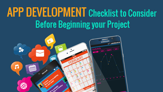 App Development Checklist Banner