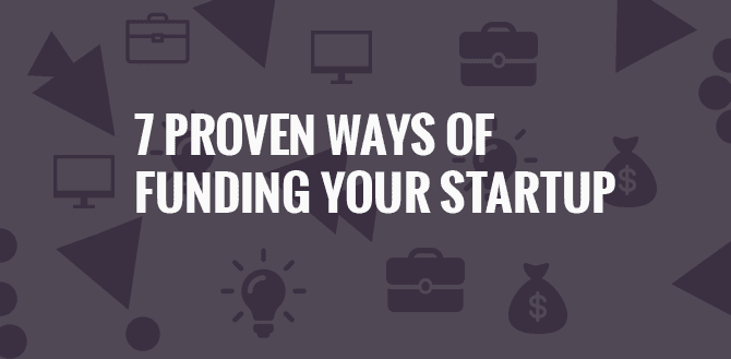 7 way to fund startup - banner