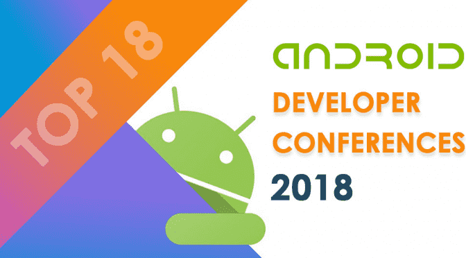 18 Android Developer Conferences In 2018-banner