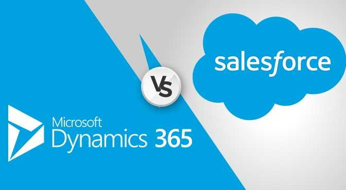 Microsoft Dynamics 365 vs Salesforce