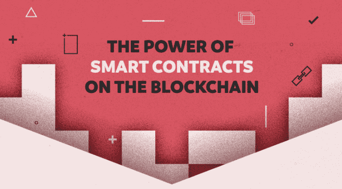 smart contracts infographic -Banner