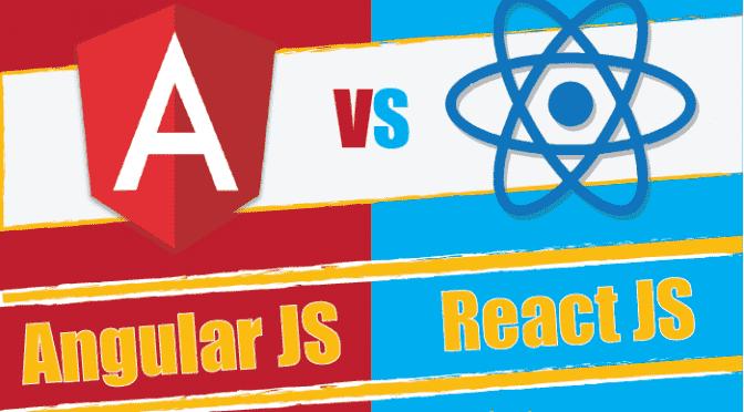 Is AngularJS or ReactJS the B