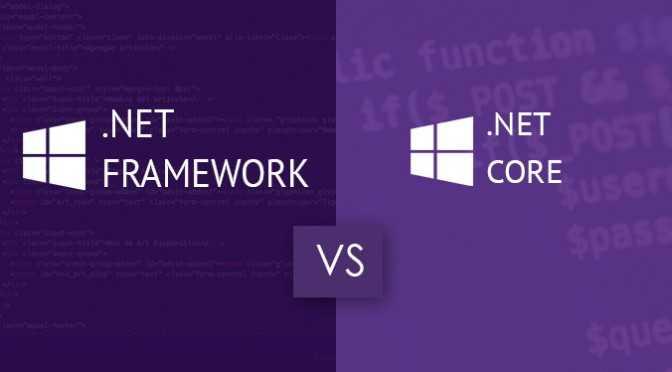 NET-Framework-NET-Core