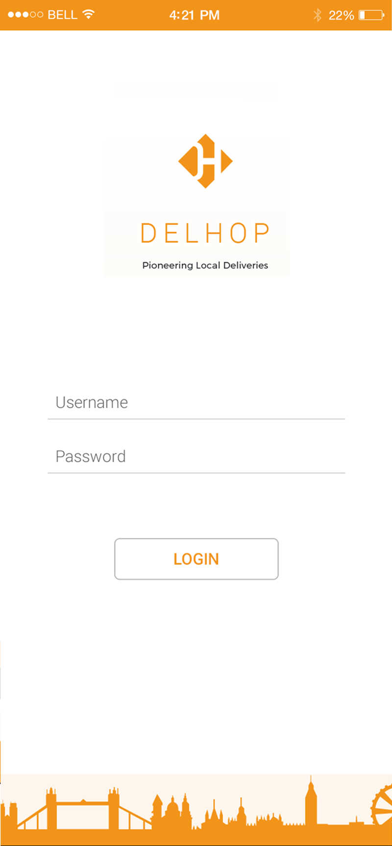 Food delivery app 2